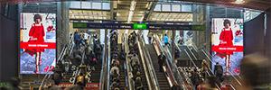 Las 'Britomart Towers' captan la atención de los viajeros en una de las estaciones de mayor tráfico de Nueva Zelanda