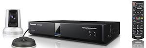 Panasonic KX-VC2000: videoconferencia empresarial multipunto en Full HD