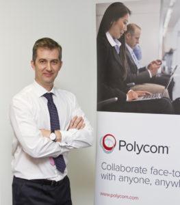Pedro Ballesteros, country manager de Polycom Iberia