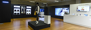 Samsung provides an answer to the digital transformation of retail visual innovation and omnicanal