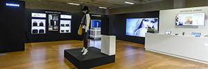 Samsung da respuesta a la transformación digital del retail con innovación visual y omnicanal