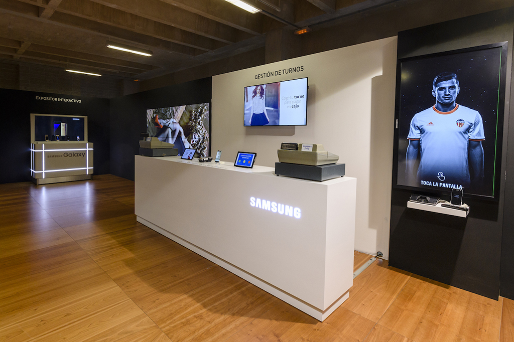 Samsung da respuesta a la transformación digital del retail con ...