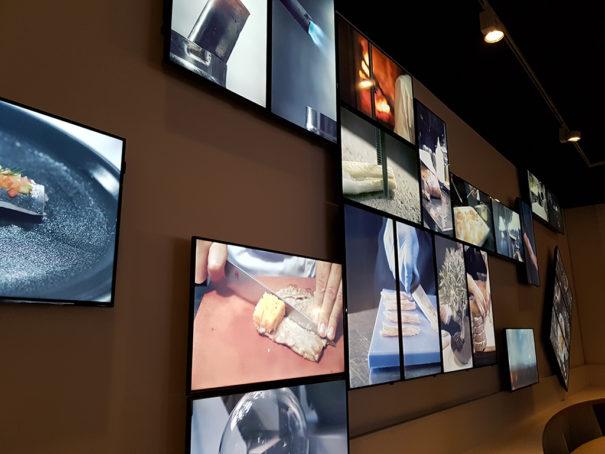 Samsung exposicion El Celler de Can Roca, de la tierra a la Luna