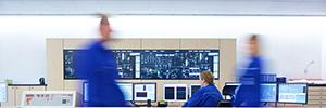 Los cubos de proyección Led de eyevis optimizan el funcionamiento de la firma química SKW Piesteritz