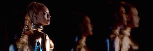 La tecnología Holo-Gauze multiplica a la artista Beyoncé con efectos holográficos 3D en el escenario