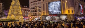 Callao Cinema celebrates its DooH screens and AR technology 90 years dedicated to celluloid