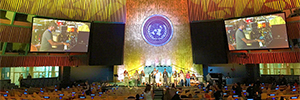 Elation ilumina el evento, celebrado en Nueva York, en reconocimiento a las acciones humanitarias