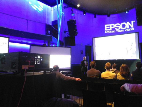 Epson Showroom 2016 Madrid