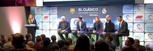 The Nou Camp and Santiago Bernabeu Stadium are committed to display 360 ° of Intel
