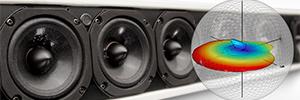 JBL Intellivox HP-DS170: columna acústica autoamplificada con DSP para entornos reverberantes