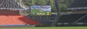 Los videomarcadores Full HD de LG dinamizan el estadio noruego de Lerkendal