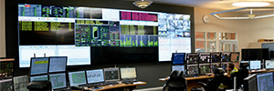 Tekniska Verken the plant centralizes information from your control room with a collaborative videowall