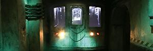 La tecnología AV de NEC ofrece el 'efecto fantasmal' a la nueva exposición del museo Madame Tussauds