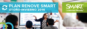 SMART Technologies refuerza su apuesta por el panel interactivo para educación