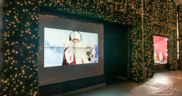 Videowall Dynascan para Selfridges