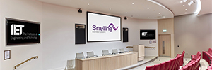 The EIT renews the AV infrastructure in the spaces dedicated to events Savoy Place