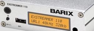 Barix aporta transmisiones de audio multicanal a teléfonos móviles en instalaciones de digital signage