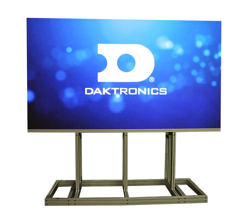 Daktronics displays at ISE 2017 the quality and reliability