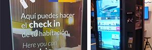 Informática El Corte Inglés desarrolla un terminal táctil de información para Neo Canarias