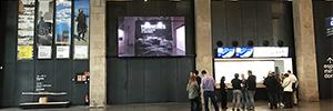 El Museo Marítimo de Barcelona se digitaliza con una pantalla Led de gran formato