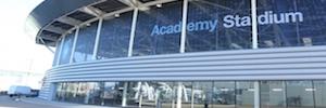 Manchester City Football Club apuesta por la producción y sistemas AV para su centro de entrenamiento