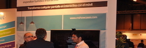 Movilok explica en Fitur 2017 las ventajas para hoteles y clientes de su escaparate interactivo