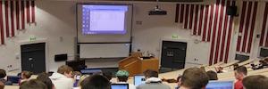 La Universidad de Dublín apuesta por la proyección láser en su transformación AV
