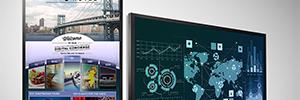 Planar QE Series: pantallas 4K de gran formato para señalización digital y colaboración