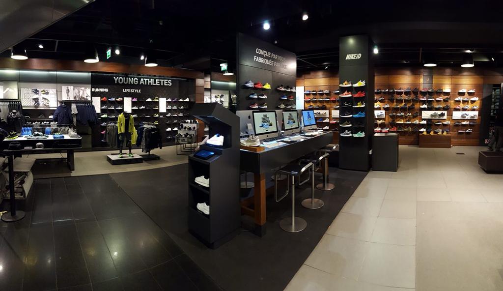 incomparable duradero en uso muchas opciones de La tienda de Nike en París permite configurar las zapatillas ...