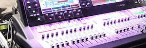 The 'Local Natives' digital mixing systems Allen & Heath on tours of Rick Wakeman and