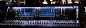 Trade training adds to his master's live sound systems dLive from Allen & Heath