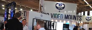 ISE 2017: B-Tech da respuesta a la demanda del mercado con soluciones de montaje versátiles y accesibles
