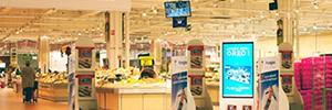 El CMS de BroadSign ayuda a gestionar la red Dooh de Carrefour Francia