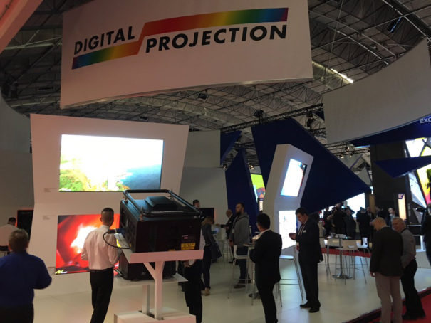 Digital Projection Presented In Ise 2017 Five New