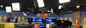 Los estudios del Canal 4 de Puerto Rico renuevan su equipamiento de iluminación con Elation