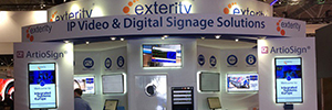 Exterity returns to ISE 2017 with new solutions 4K video distribution from end to end