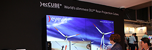 Eyevis at ISE 2017 presents a more intelligent DLP cube with TRP architecture and visualization solutions