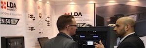 The Spanish LDA Audio Tech presented its new models NEO Extension at ISE 2017