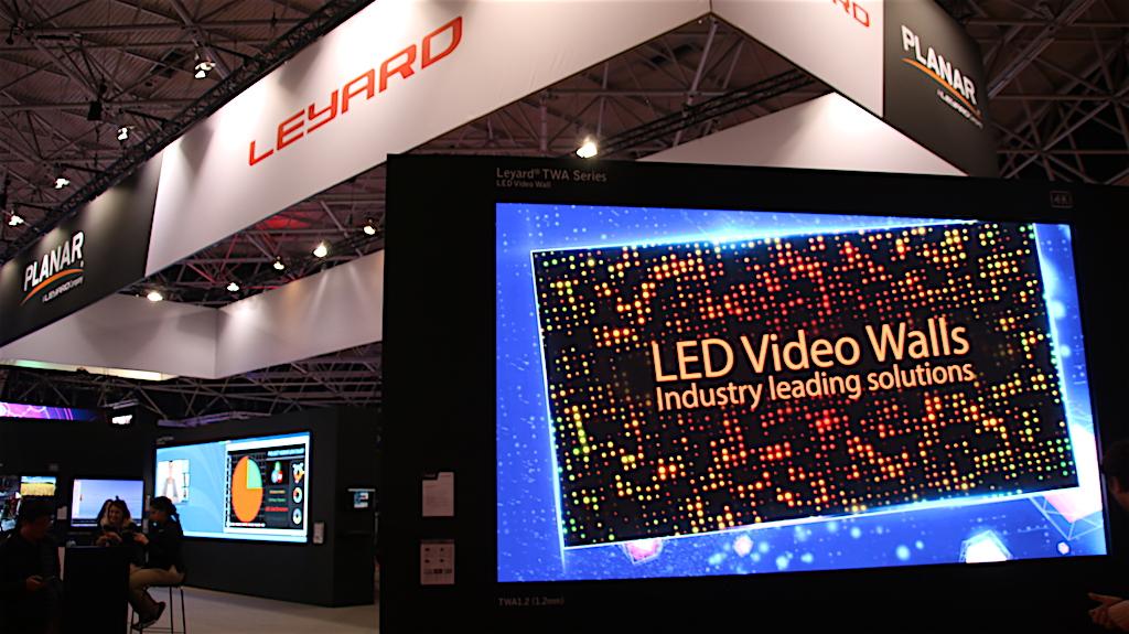 Leyard y Planar apuestan por pantallas con píxel pitch ultra ...
