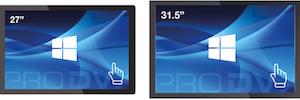 Macroservice comercializa la nueva gama de pantallas de ProDVX para entornos comerciales