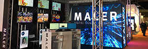 Maler Digital Signage debutto come espositore a ISE 2017