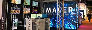 Maler Digital Signage debuta como expositor en ISE 2017