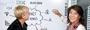 Ricoh and IBM develop a solution that will be the cornerstone of corporate meetings