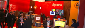 Riedel advances in ISE 2017 its proposal for multiscreen