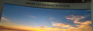Samsung traza en ISE 2017 su visión de futuro: tecnología display QLed Signage UHD y la serie IF Led