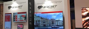 Tecco shows news from ARACAST to face any digital signage project