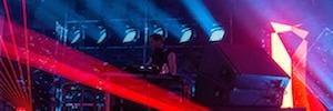 El festival de música electrónica Mutek diseña su iluminación con Elation