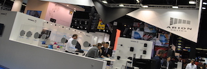 Work at ISE 2017 Pro shows its solutions to control audio and lighting devices