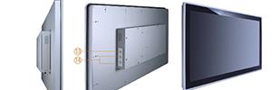 """Axiomtek amplía su línea de paneles Full HD multitáctiles con un modelo de 21,5"""" para digital signage"""