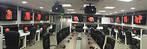 Christie technology optimizes the control room of the Halliburton oil services company